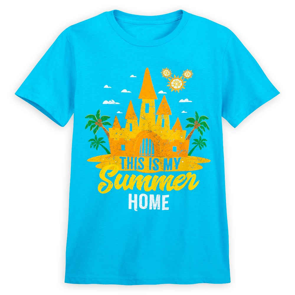 Fantasyland Castle Summer Fun T-Shirt for Adults