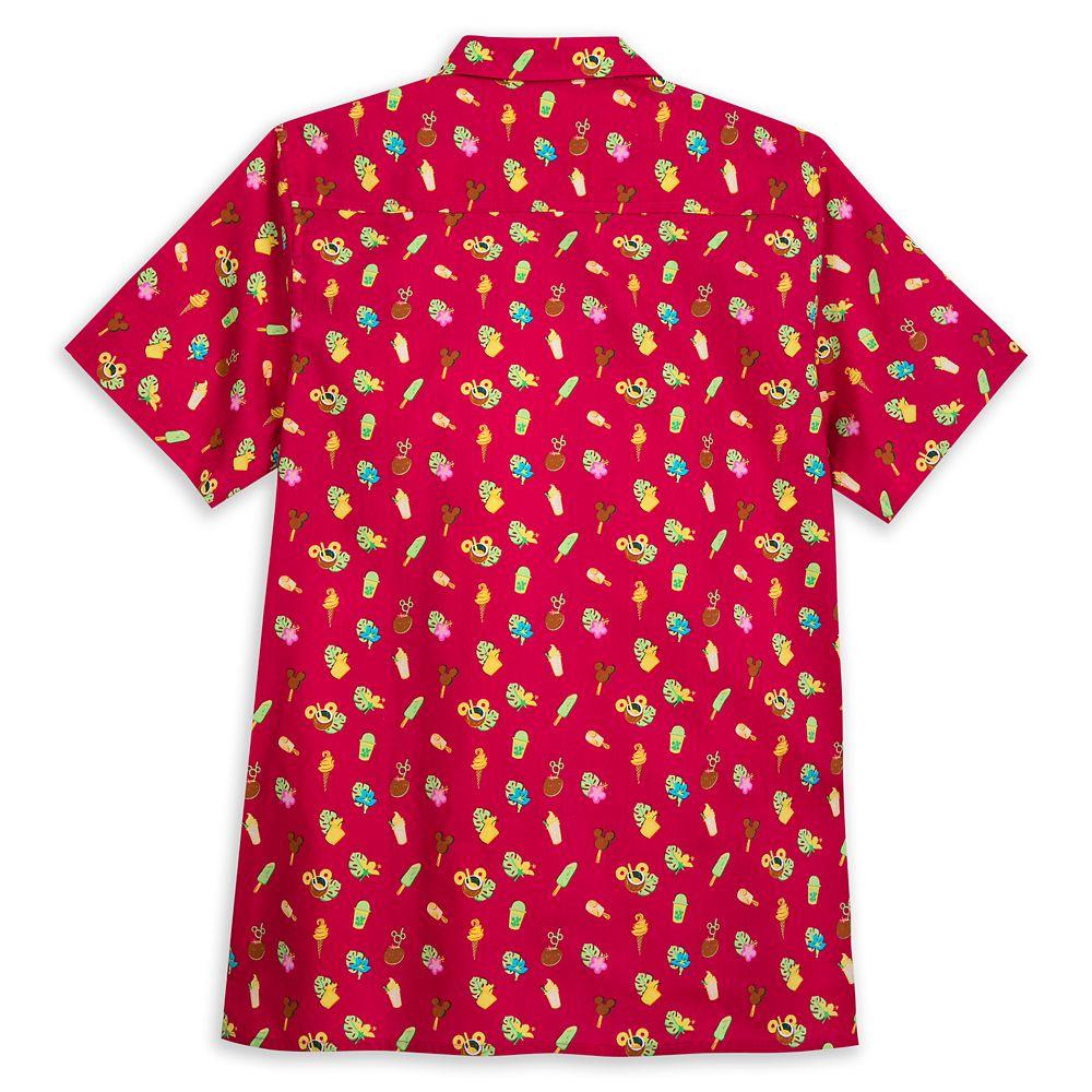 Disney Parks Aloha Shirt for Men