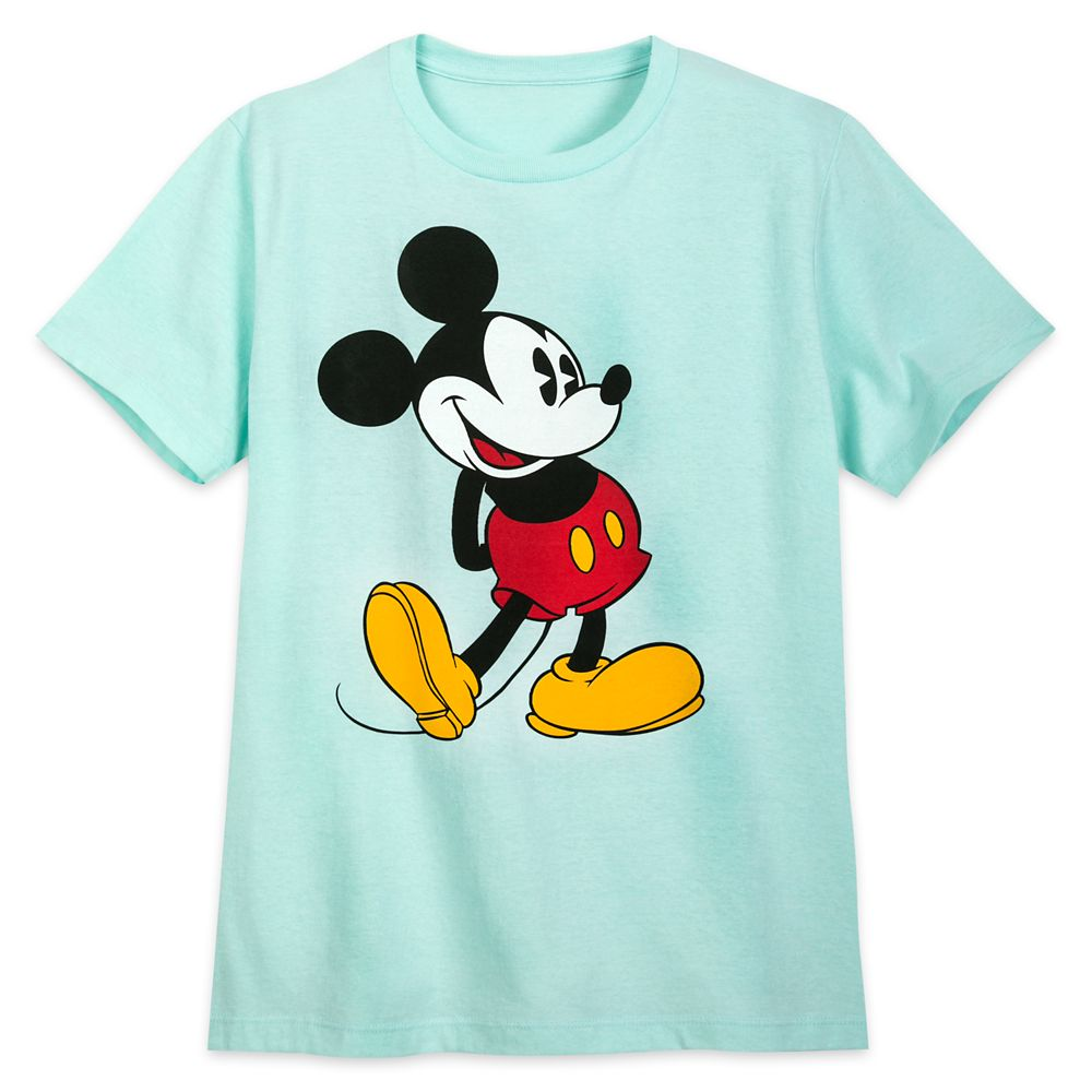 Mickey Mouse Classic T-Shirt for Adults – Topaz