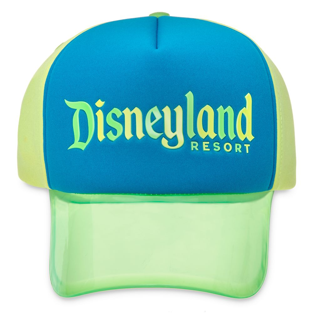 Disneyland Neon Visor Baseball Cap for Adults