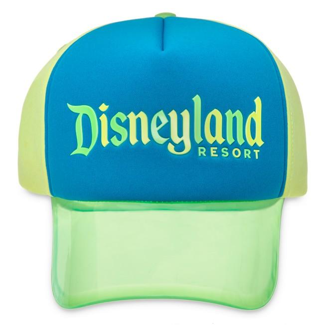 Disneyland Neon Visor Baseball Cap for Adults