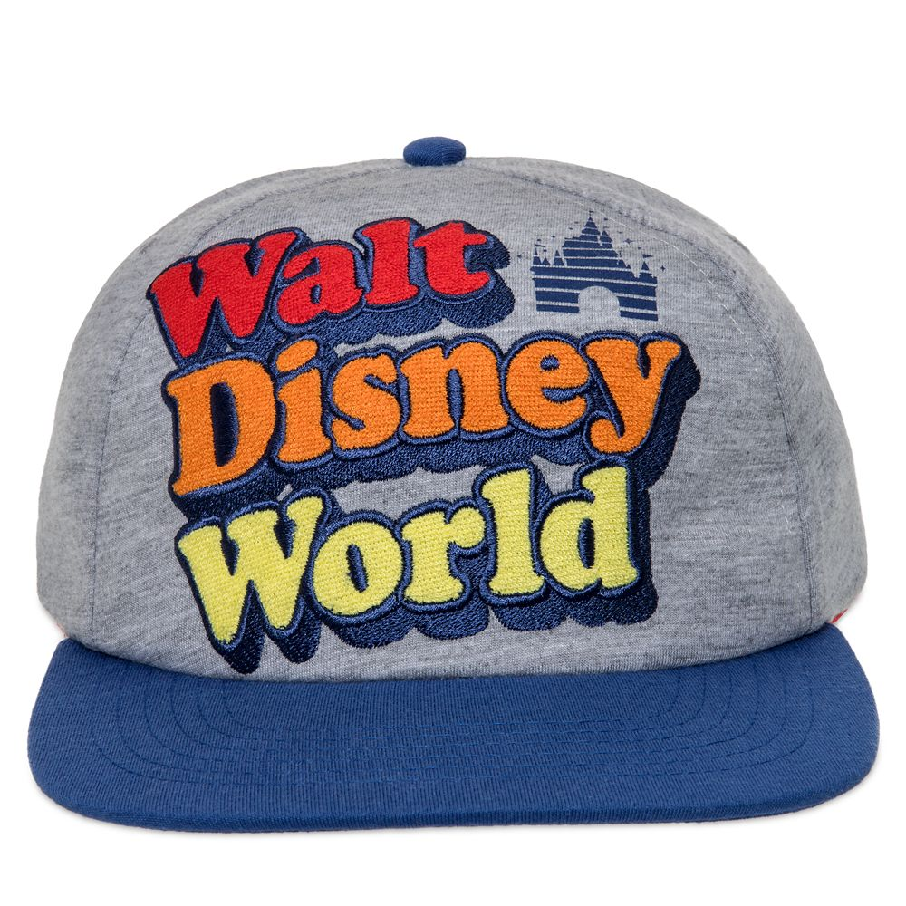 Walt Disney World Retro Logo Baseball Cap for Adults