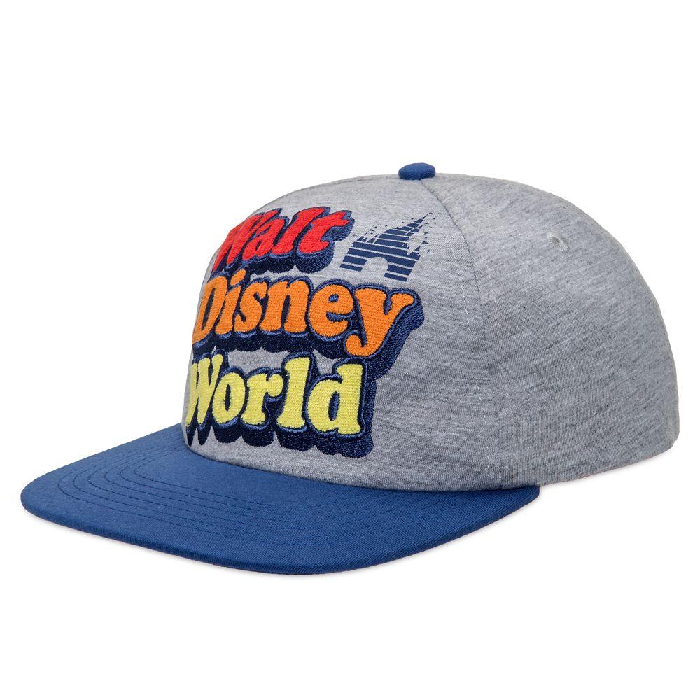 Walt Disney World Retro Logo Baseball Cap for Adults