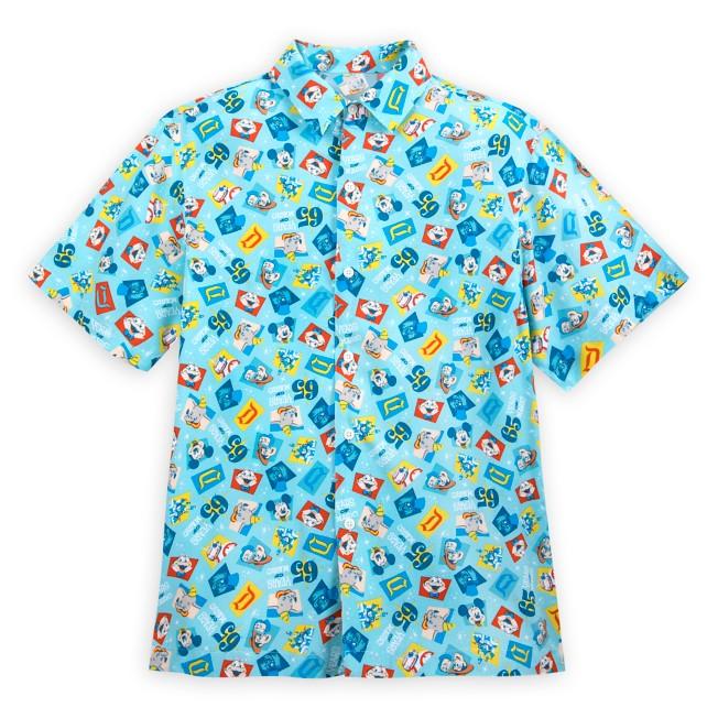 Disneyland 65th Anniversary Aloha Shirt for Adults
