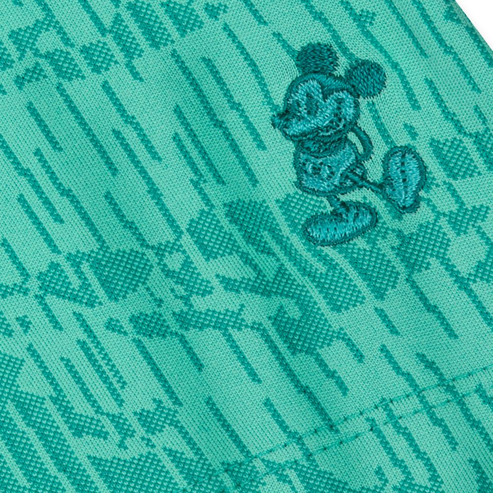 Mickey Mouse Performance Polo Shirt for Men by Nike – Jacquard Green