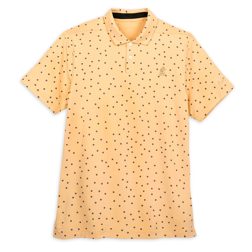 Mickey Mouse Performance Polo Shirt for Men by Nike – Floral Pattern