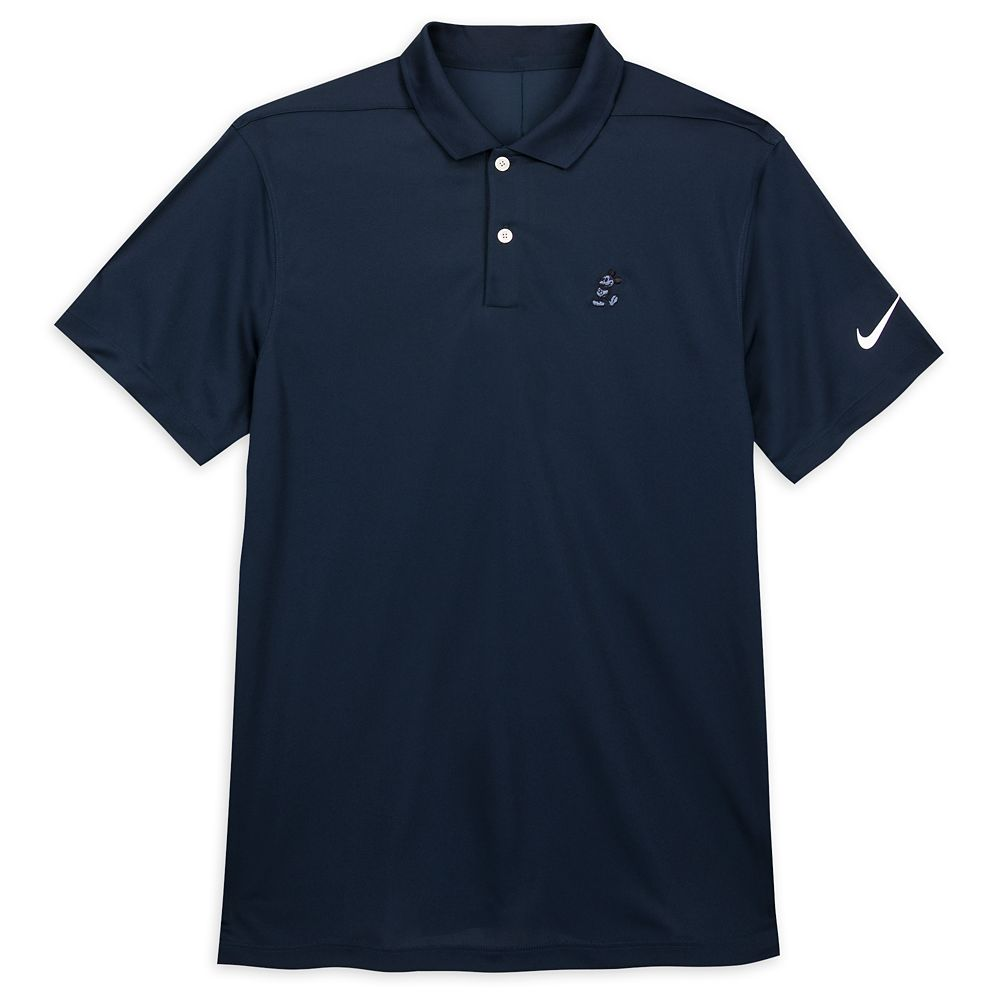 Mickey Mouse Performance Polo Shirt for Men by Nike – Navy Blue