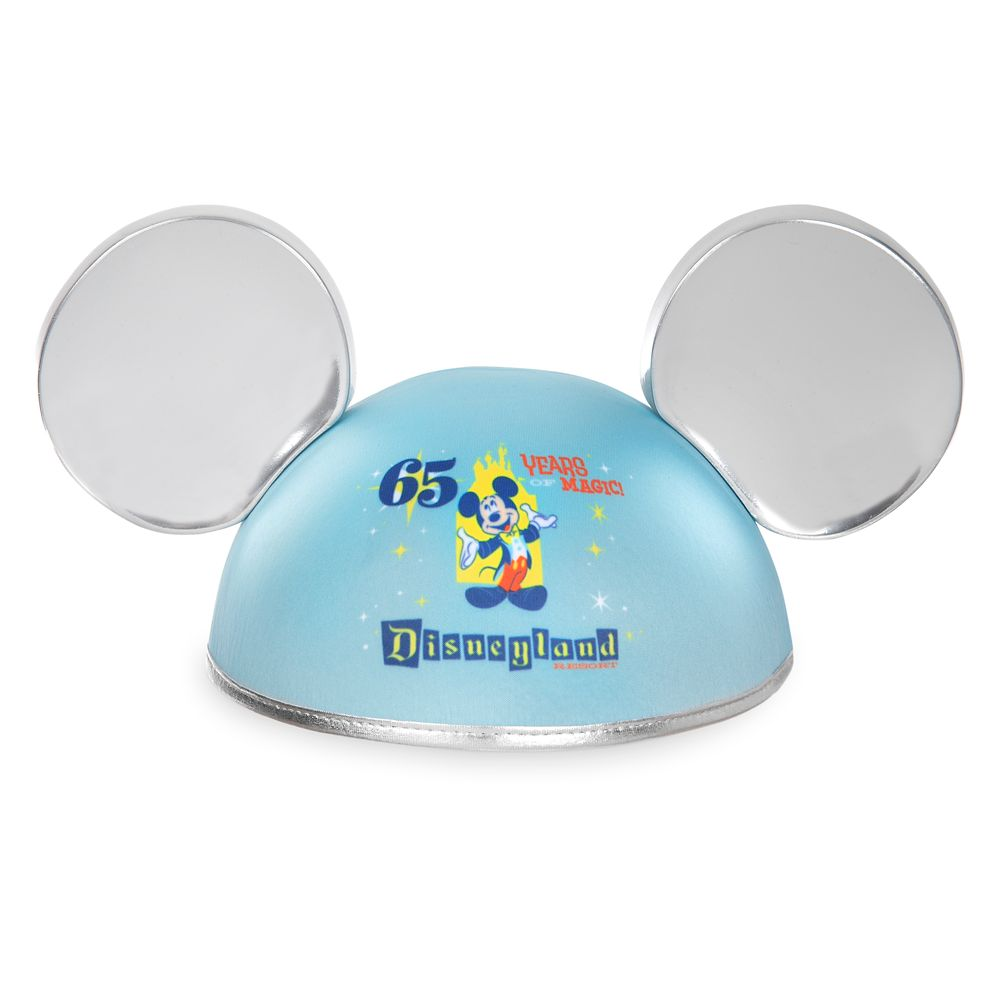 Mickey Mouse Ear Hat for Adults – Disneyland 65th Anniversary
