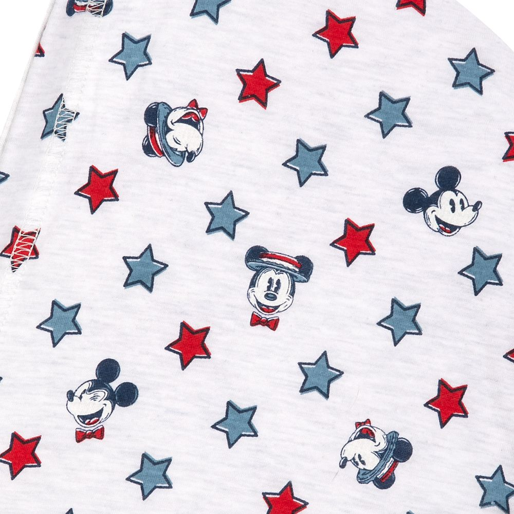 Mickey and Minnie Mouse Americana Zip-Up Sweatshirt for Women