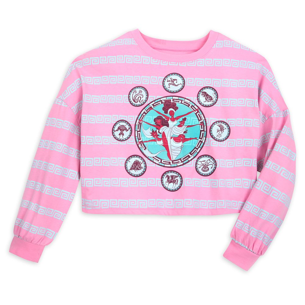 The Muses Long Sleeve Crop Top for Women – Hercules