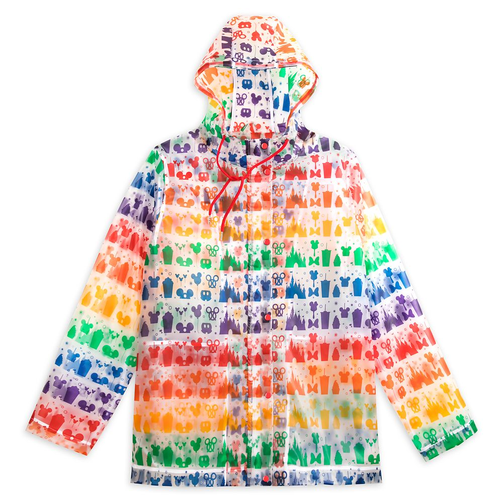 Rainbow Disney Collection Disney Parks Rain Jacket – Fashion Fit – 2020