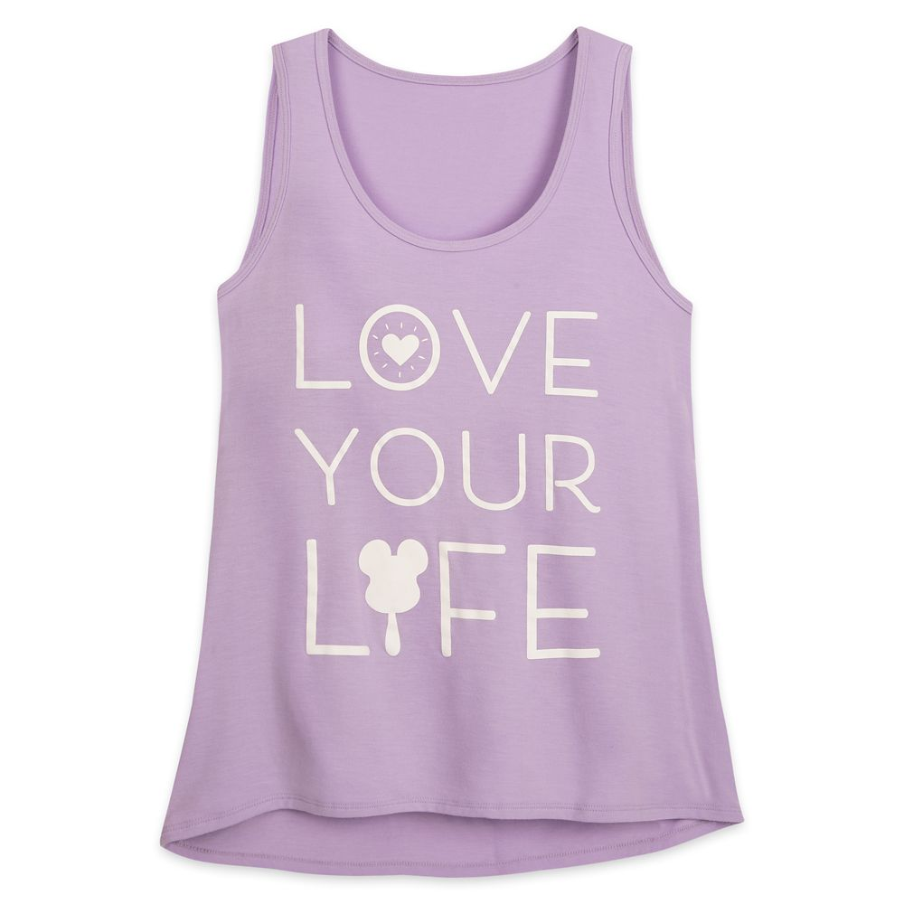 Disney Parks ''Love Your Life'' Tank Top for Women by Her Universe