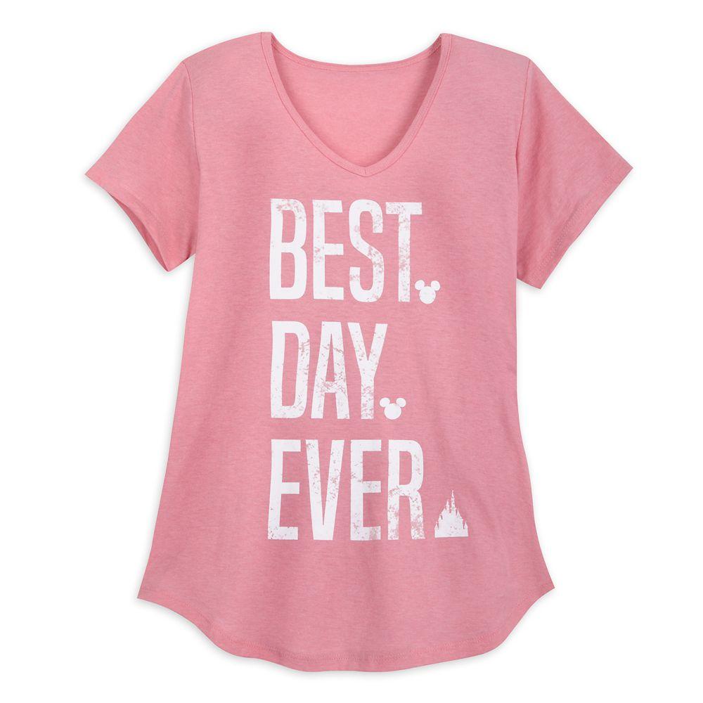 Disney Parks Best Day Ever T-Shirt for Women