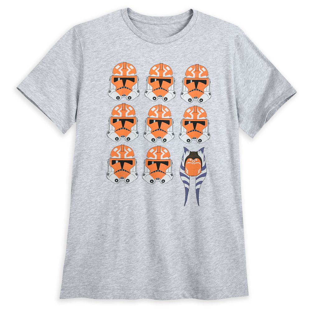 Star Wars: The Clone Wars Helmets T-Shirt for Men by Our Universe