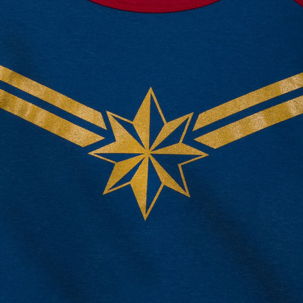 Captain Marvel Fashion T-Shirt for Women
