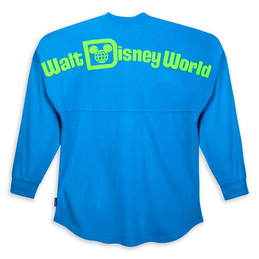 Walt Disney World Spirit Jersey for Adults – Neon Blue