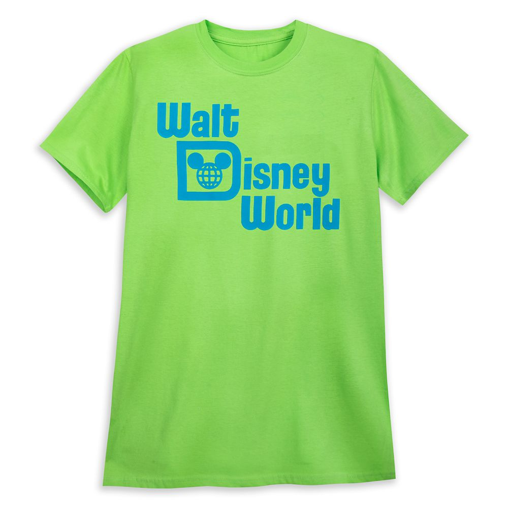 Walt Disney World T-Shirt for Adults – Neon Lime