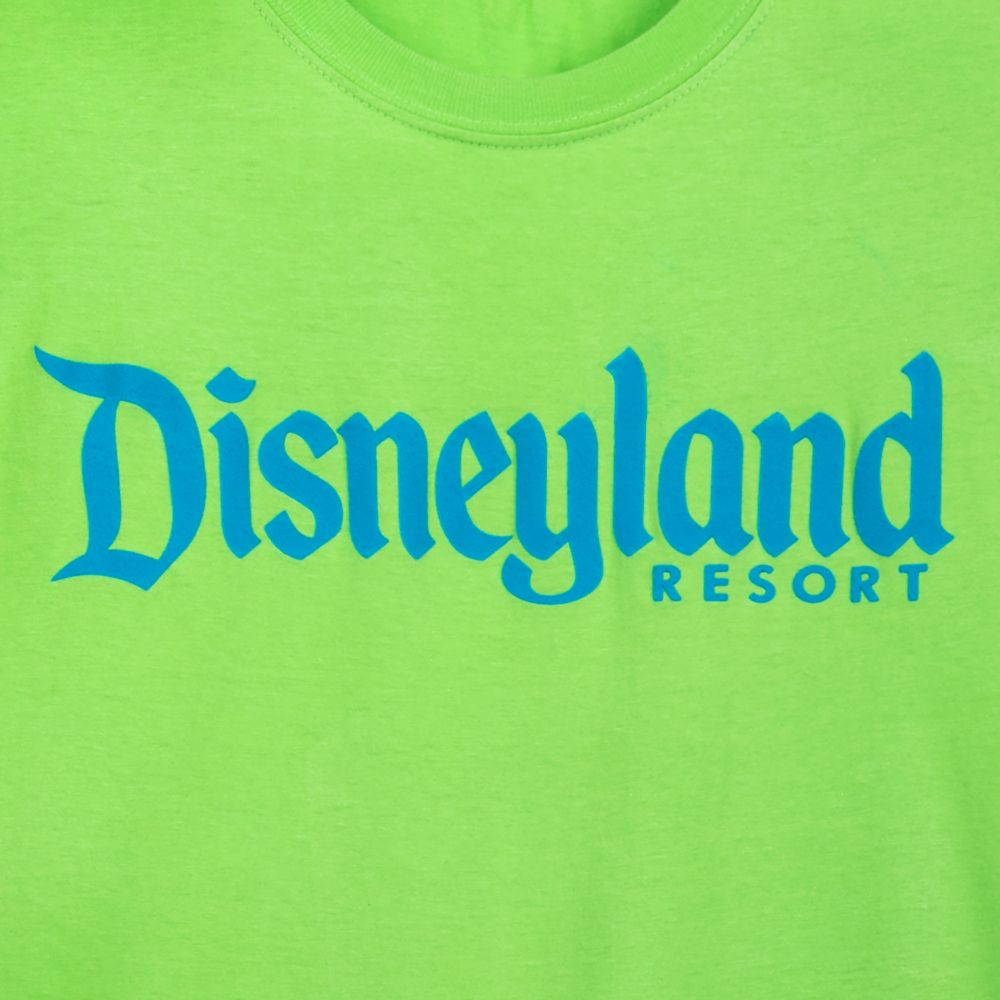 Disneyland T-Shirt for Adults – Neon Lime