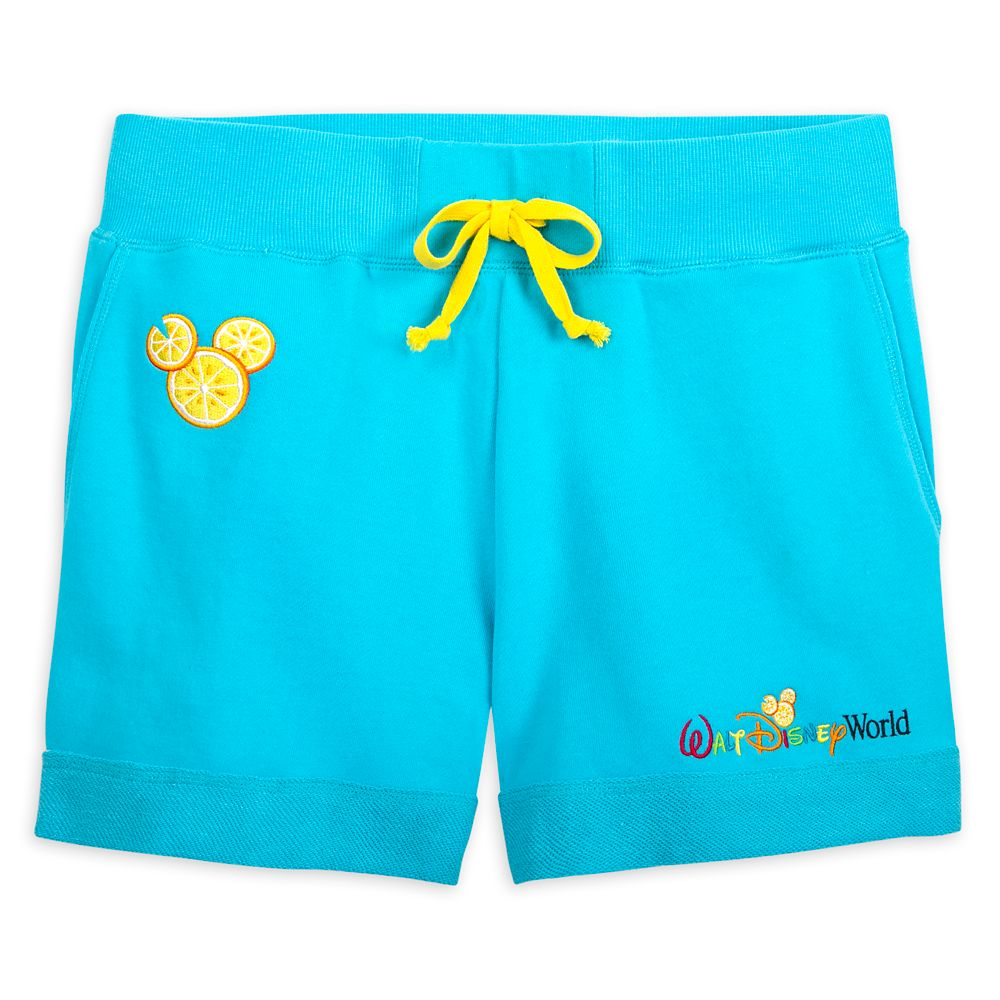 Mickey Mouse Lemon Icon Shorts for Women – Walt Disney World