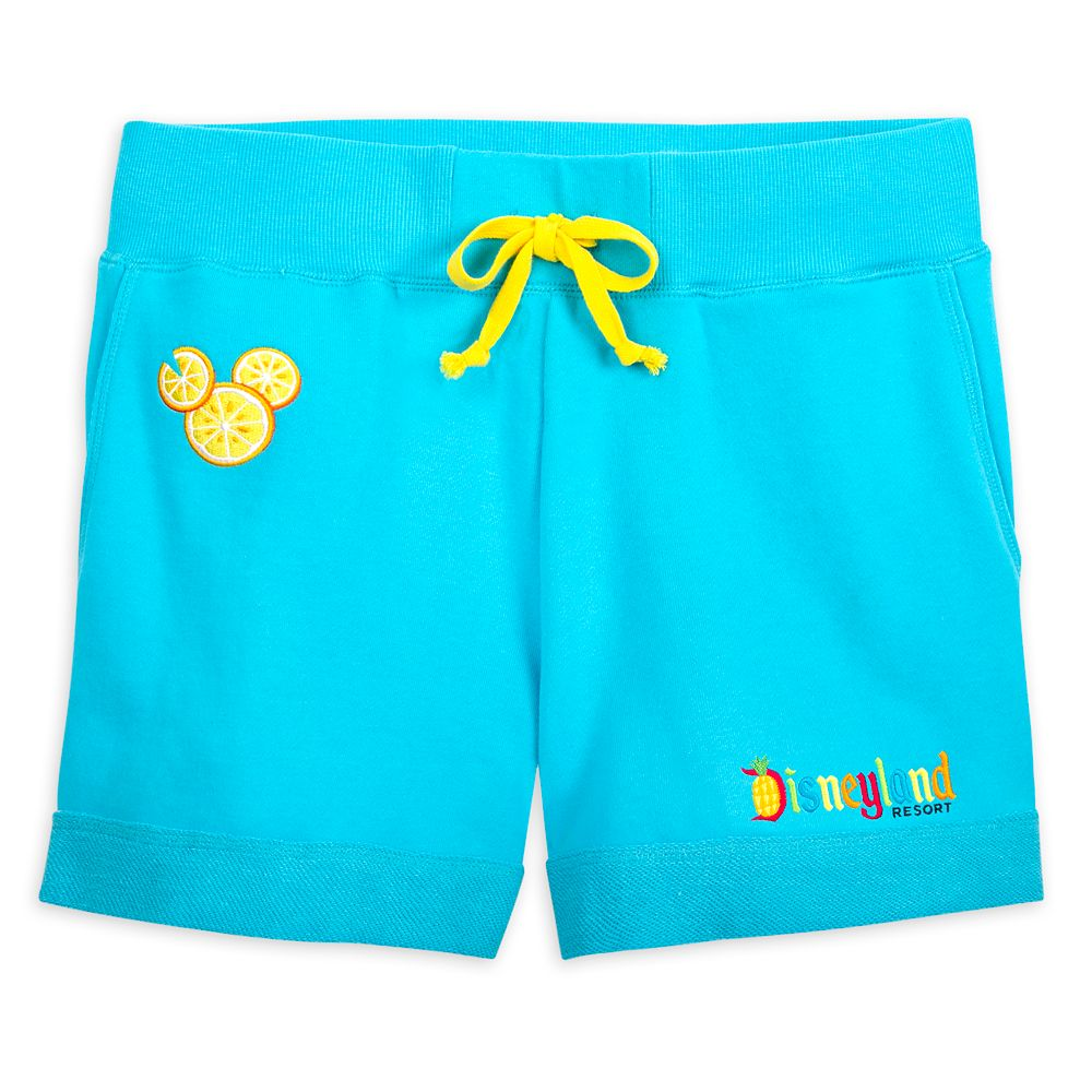 Mickey Mouse Lemon Icon Shorts for Women – Disneyland