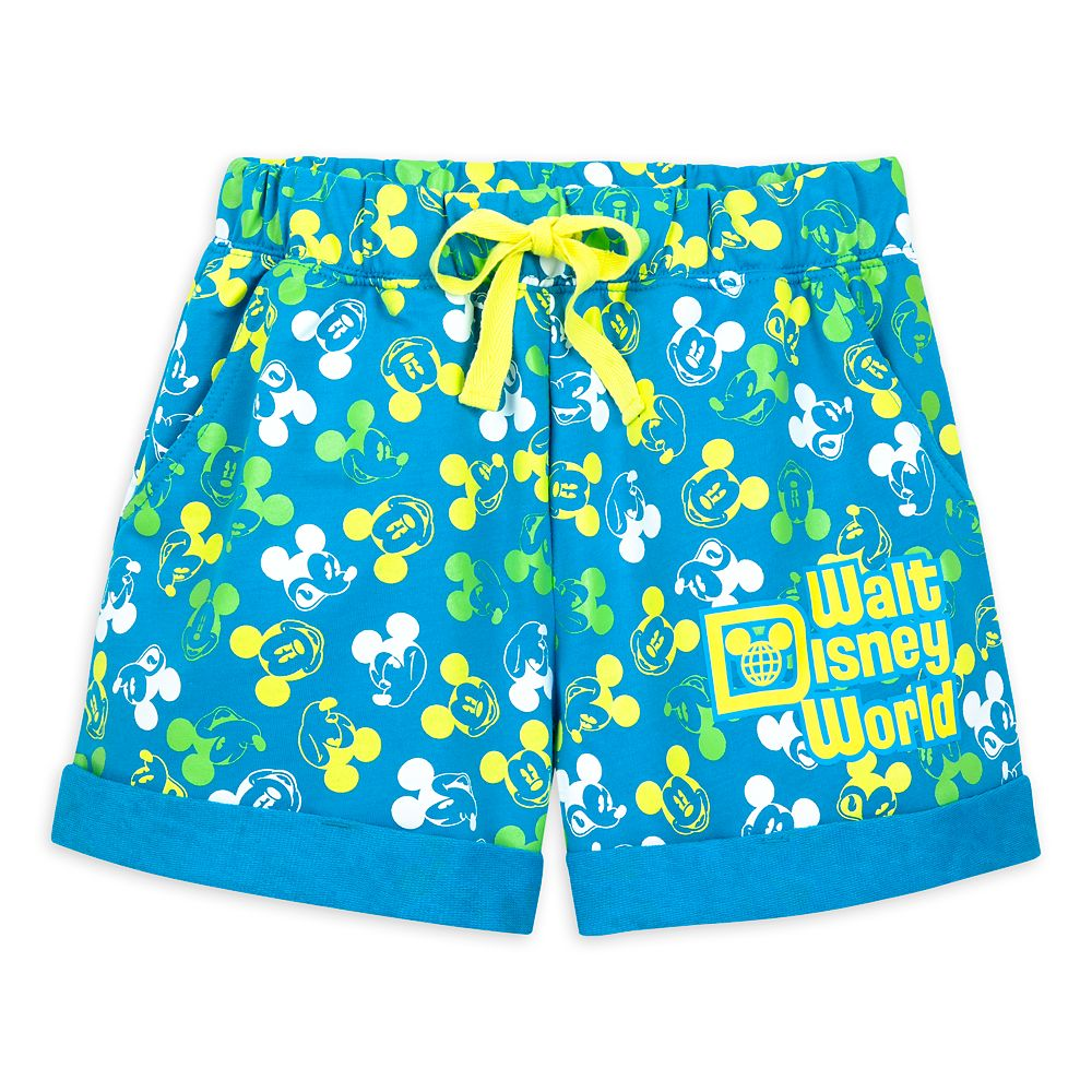 Mickey Mouse Neon Shorts for Women – Walt Disney World