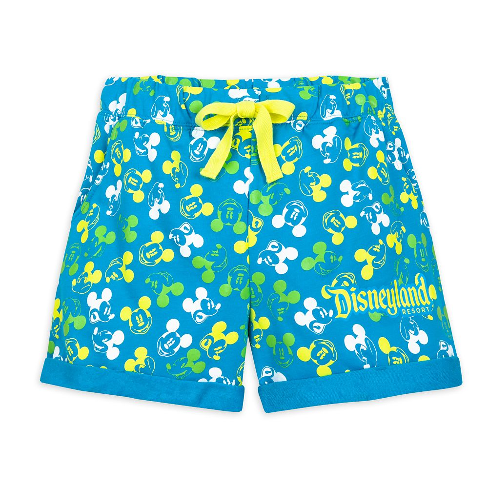 Mickey Mouse Neon Shorts for Women – Disneyland