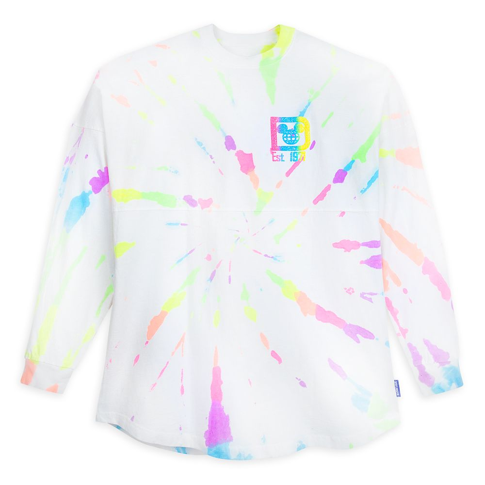 Walt Disney World Neon Splatter Spirit Jersey for Adults
