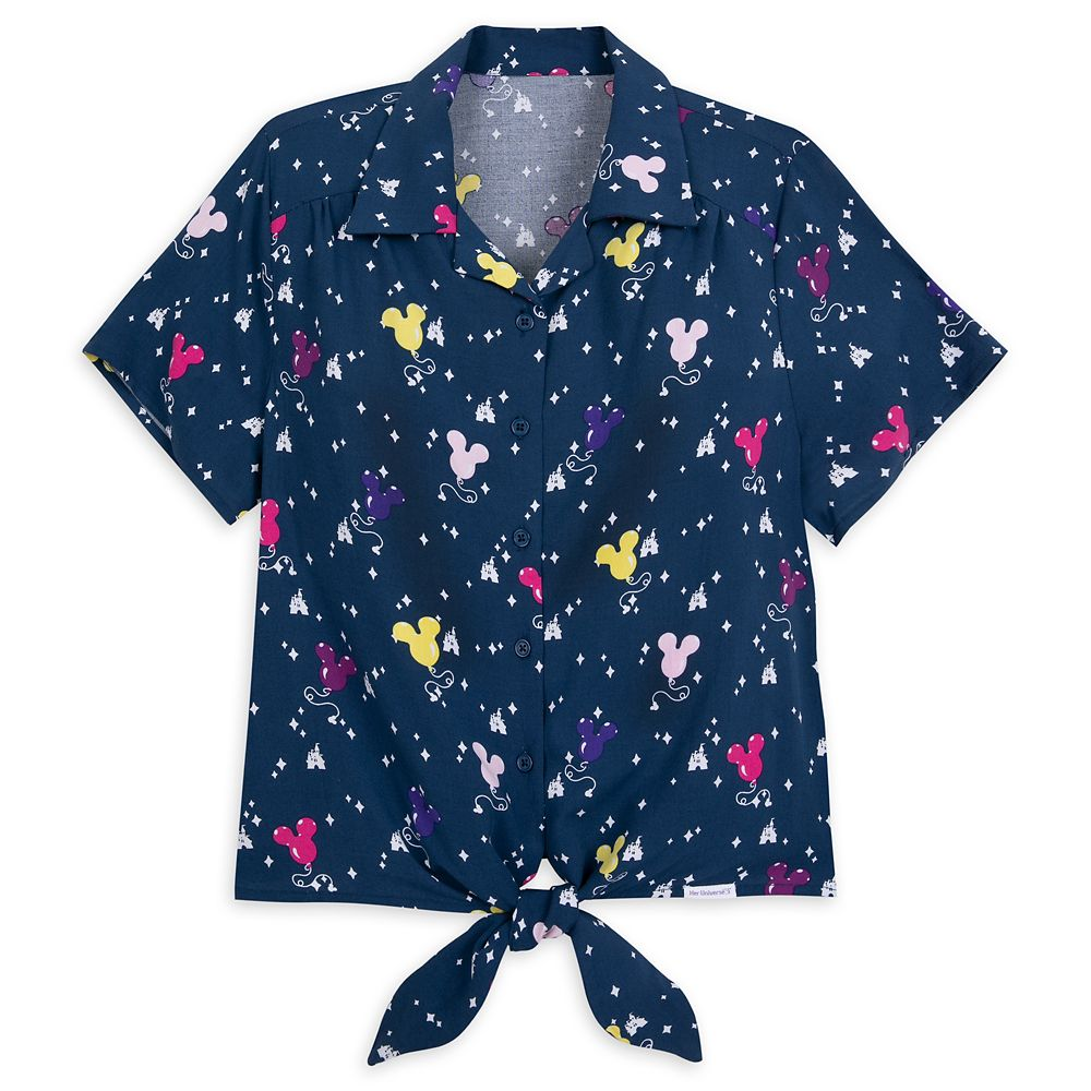 Mickey Mouse Balloon Woven Blouse for Women by Her Universe