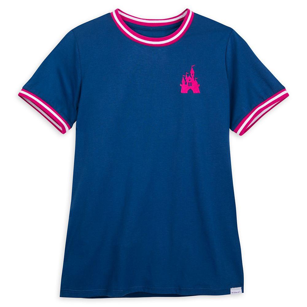 Fantasyland Castle Ringer T-Shirt for Women by Her Universe
