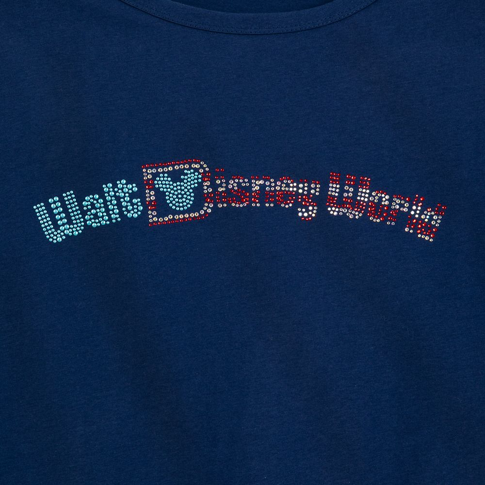 Walt Disney World Americana Fashion Tee for Women