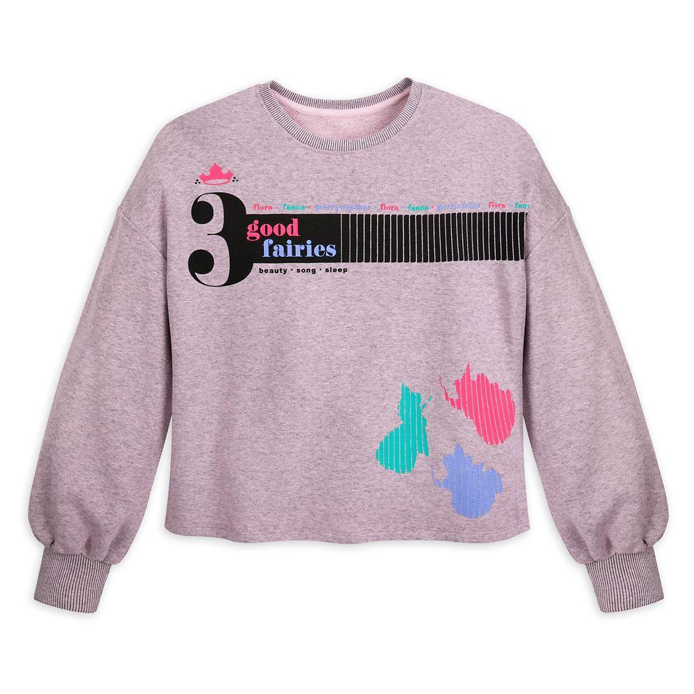 Flora, Fauna, and Merryweather Sweatshirt for Women – Sleeping Beauty