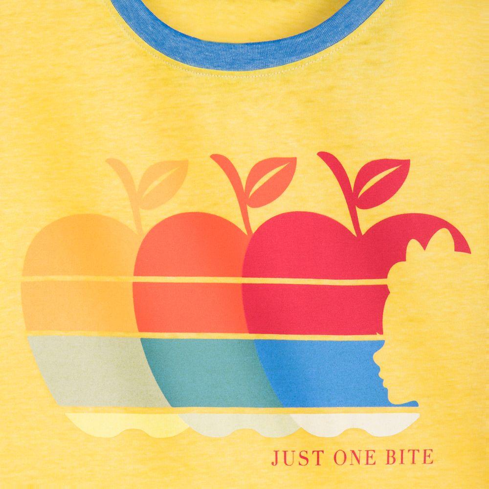 Snow White Ringer T-Shirt for Women