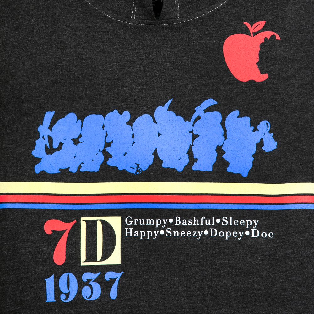 Snow White and the Seven Dwarfs Athletic Pullover Hoodie for Women