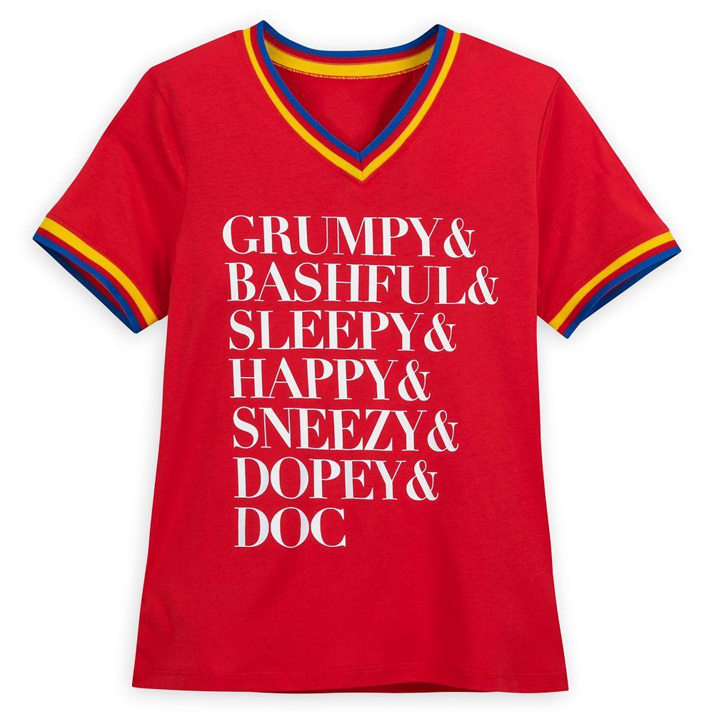 Seven Dwarfs Soccer T-Shirt for Women – Snow White and the Seven Dwarfs