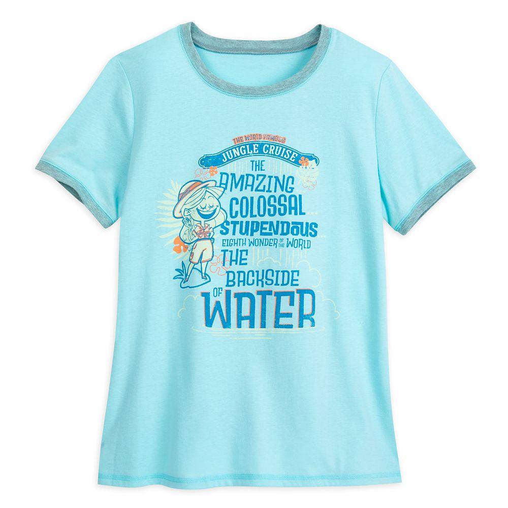 Jungle Cruise Ringer T-Shirt for Women