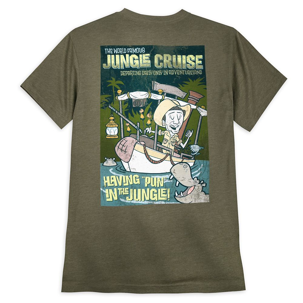 Jungle Cruise Skipper T-Shirt for Adults