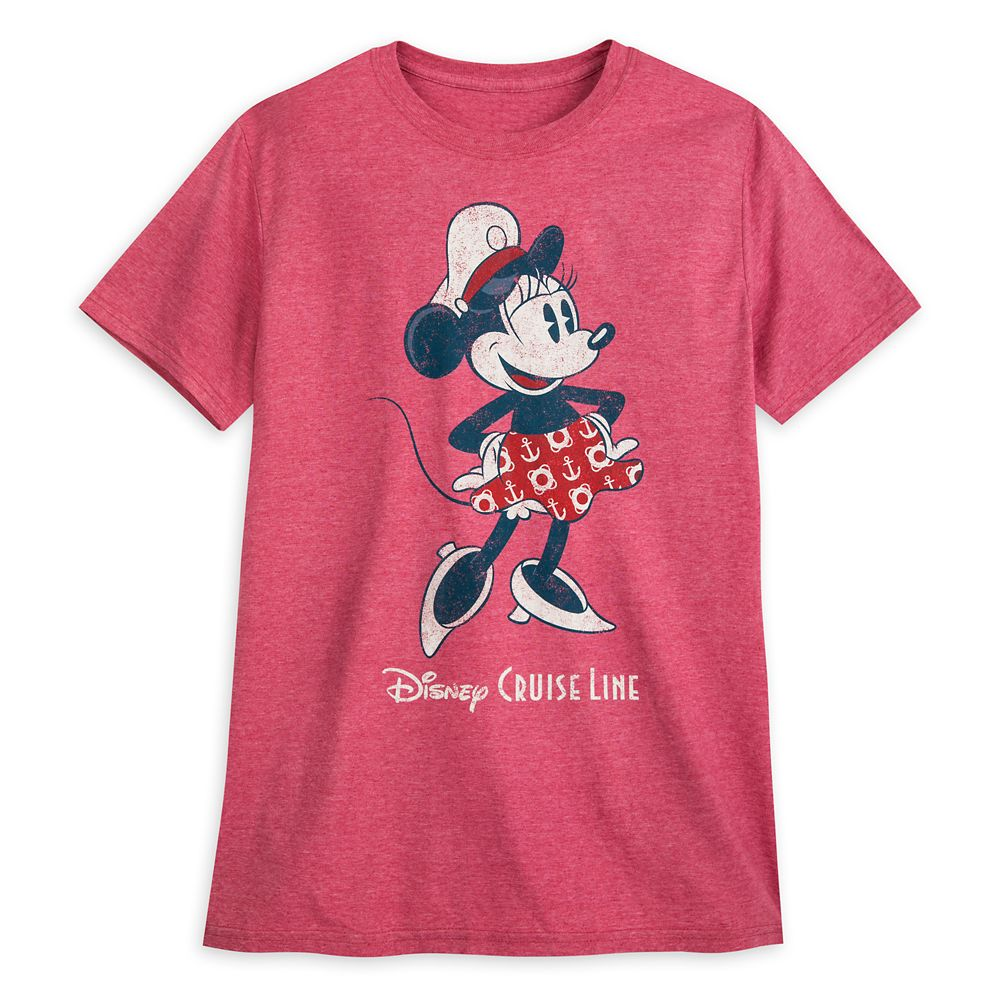 Captain Minnie Mouse T-Shirt for Adults – Disney Cruise Line