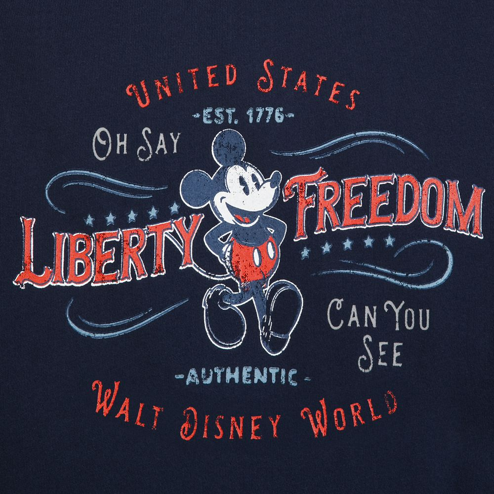 Mickey Mouse Americana Pullover Hoodie for Men – Walt Disney World