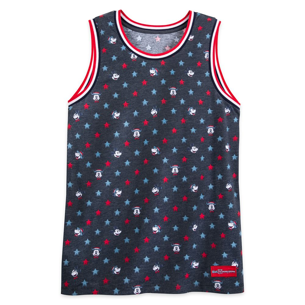 Mickey Mouse Americana Tank Top for Adults – Walt Disney World
