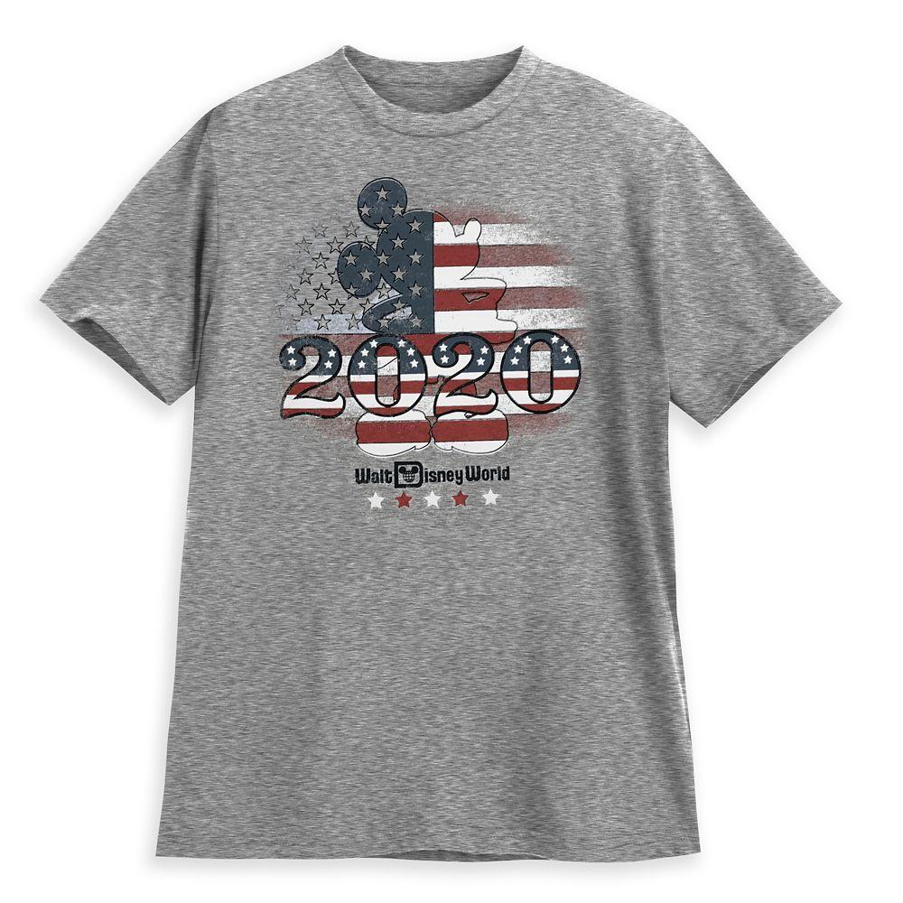 Mickey Mouse Americana T-Shirt for Adults – Walt Disney World 2020