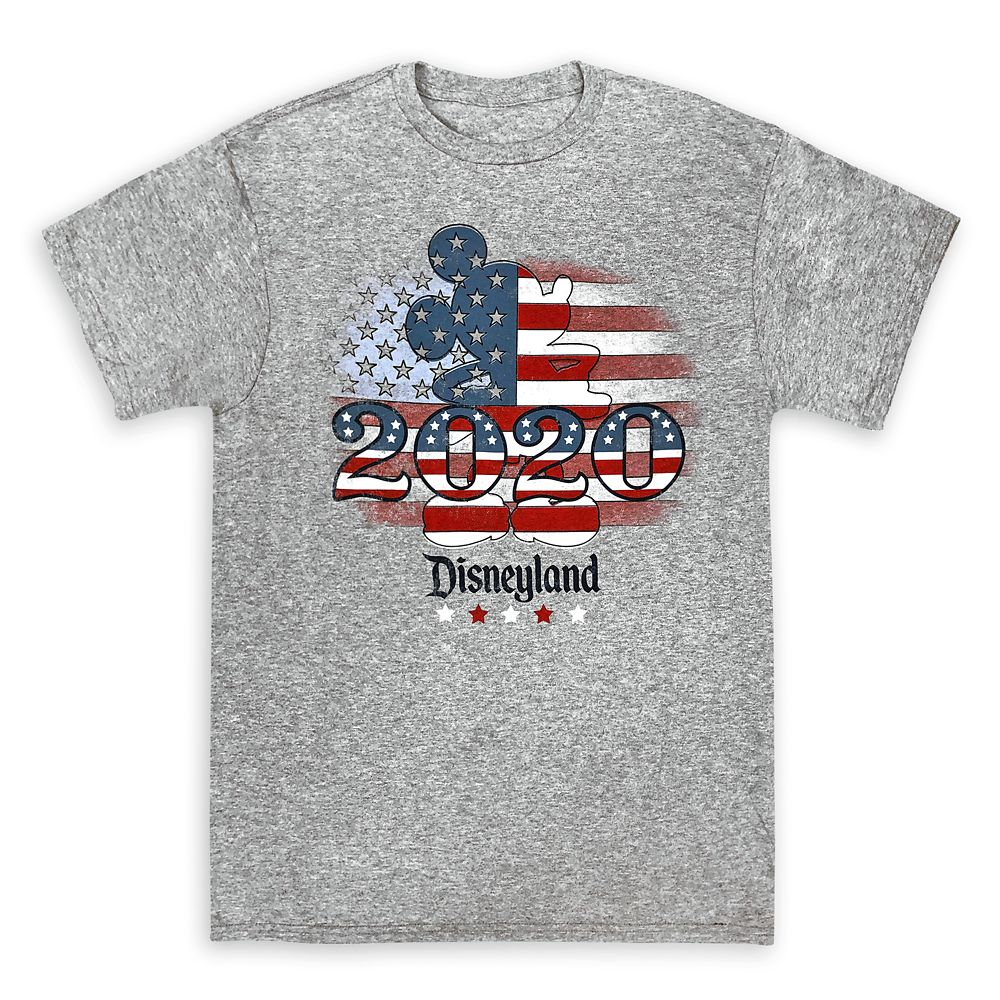 Mickey Mouse Americana T-Shirt for Adults – Disneyland 2020
