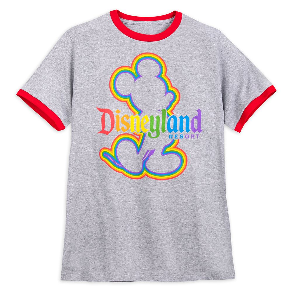 Rainbow Disney Collection Mickey Mouse Ringer T-Shirt – Unisex – Disneyland – 2020