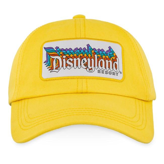 Disneyland Baseball Cap for Adults – Yellow