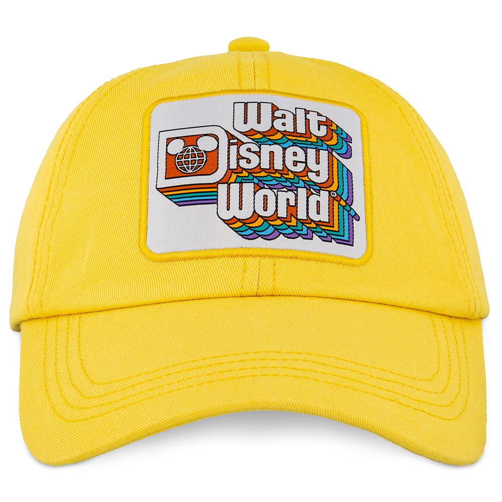 Walt Disney World Baseball Cap for Adults – Yellow