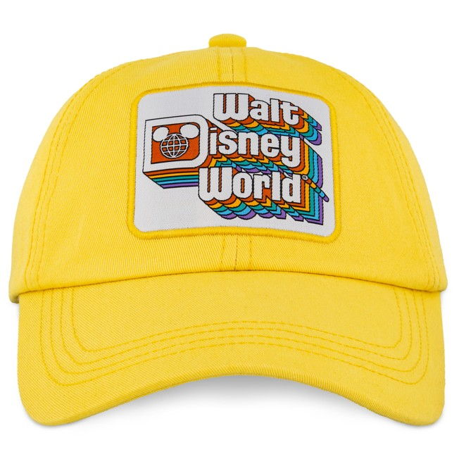 Walt Disney World Baseball Cap for Adults – Yellow