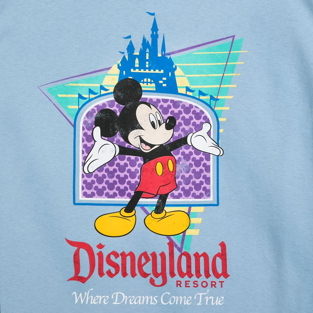 Mickey Mouse ''Where Dreams Come True'' T-Shirt for Men – Disneyland