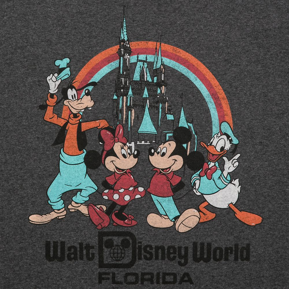 Mickey Mouse and Friends Rainbow T-Shirt for Men – Walt Disney World