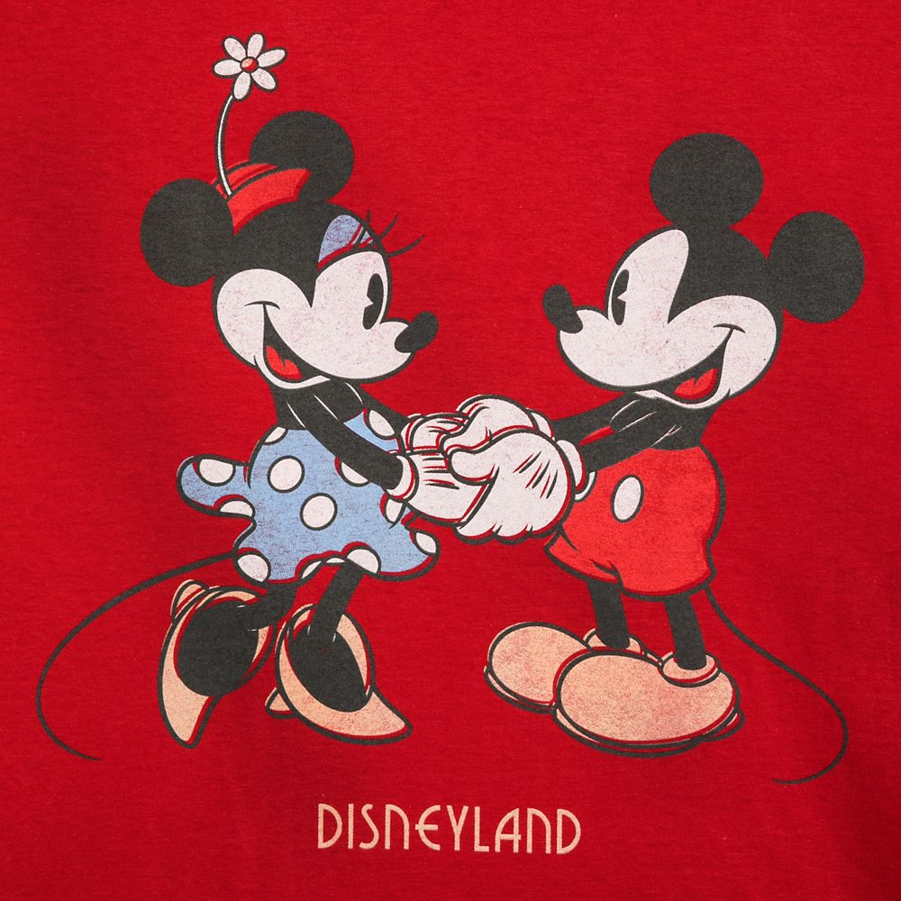 Mickey and Minnie Mouse T-Shirt for Adults – Disneyland