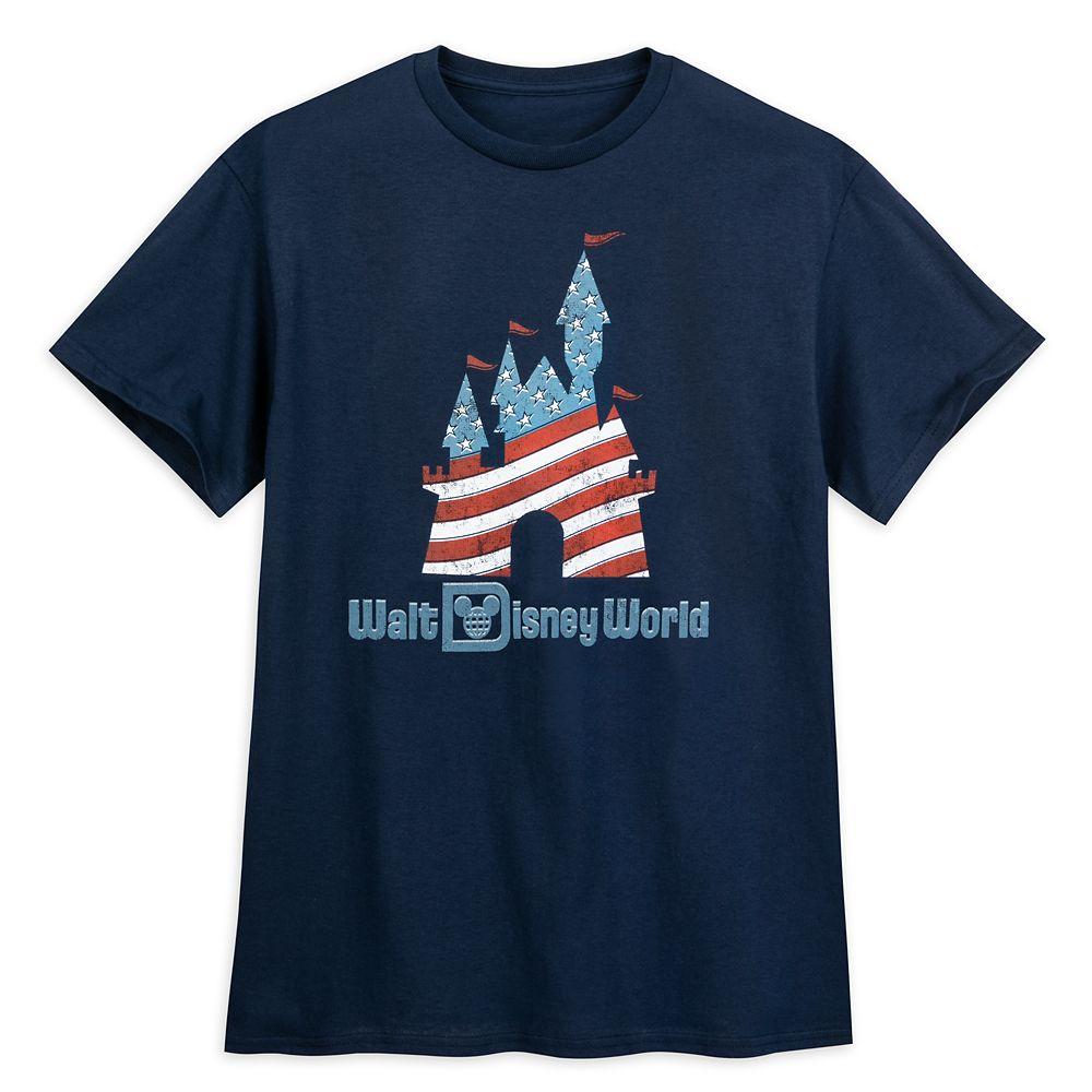 Fantasyland Castle Americana T-Shirt – Walt Disney World