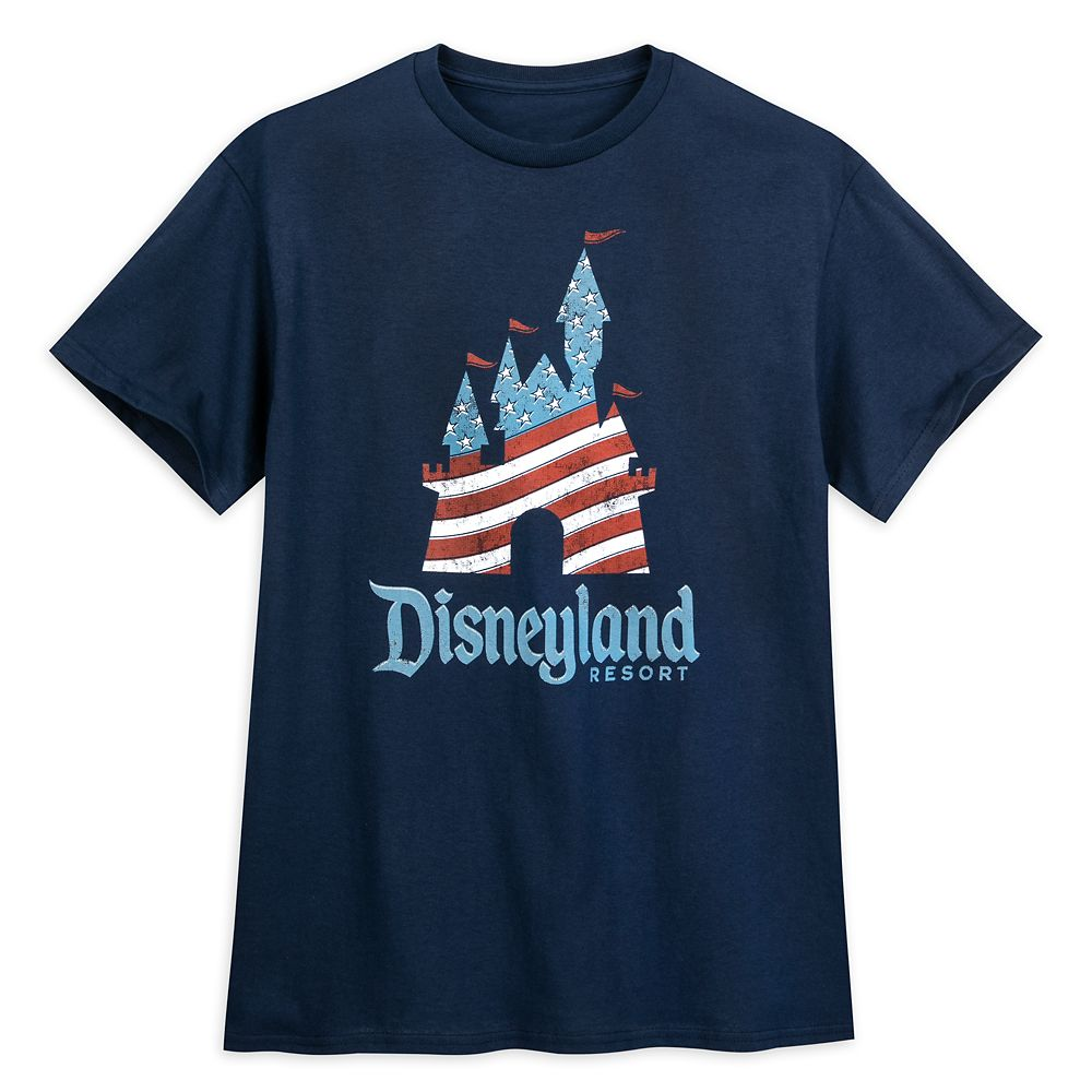 Fantasyland Castle Americana T-Shirt – Disneyland